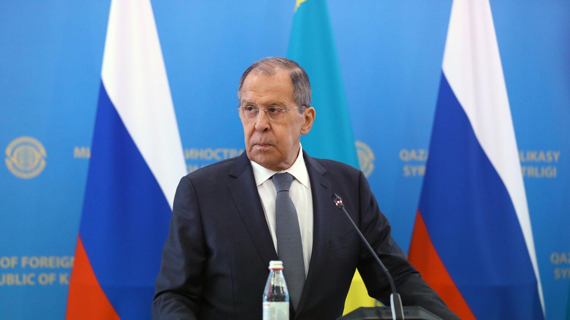 Министр иностранных дел РФ Сергей Лавров - РИА Новости, 1920, 12.04.2021