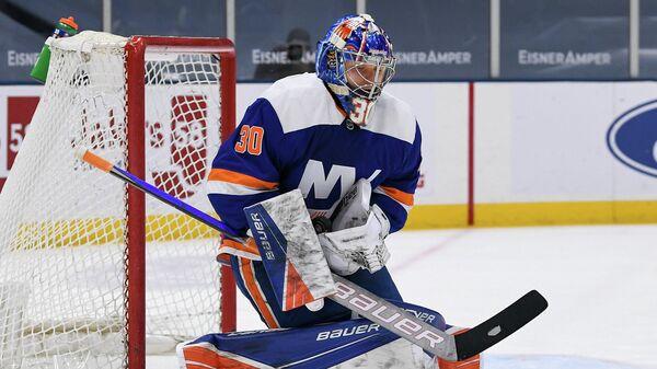 вратарь клуба НХЛ Нью-Йорк Рейнджерс Илья Сорокин