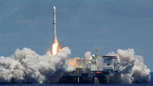 Запуск с плавучего космодрома Морской старт