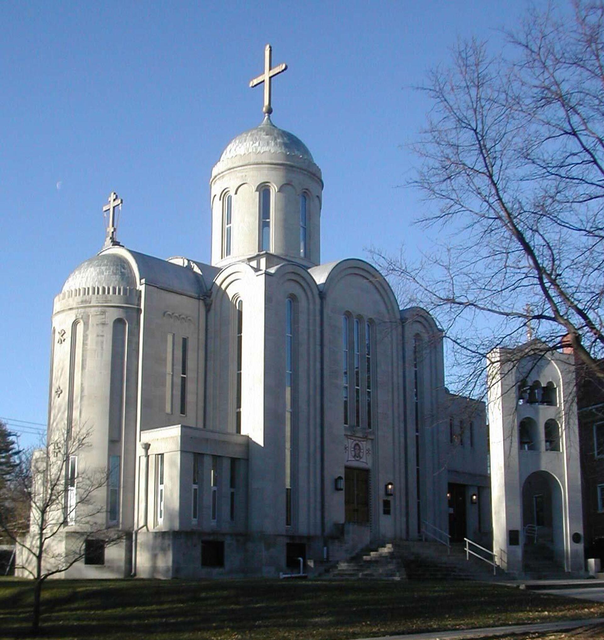 Свято-Николаевский собор в Вашингтоне - РИА Новости, 1920, 13.04.2021