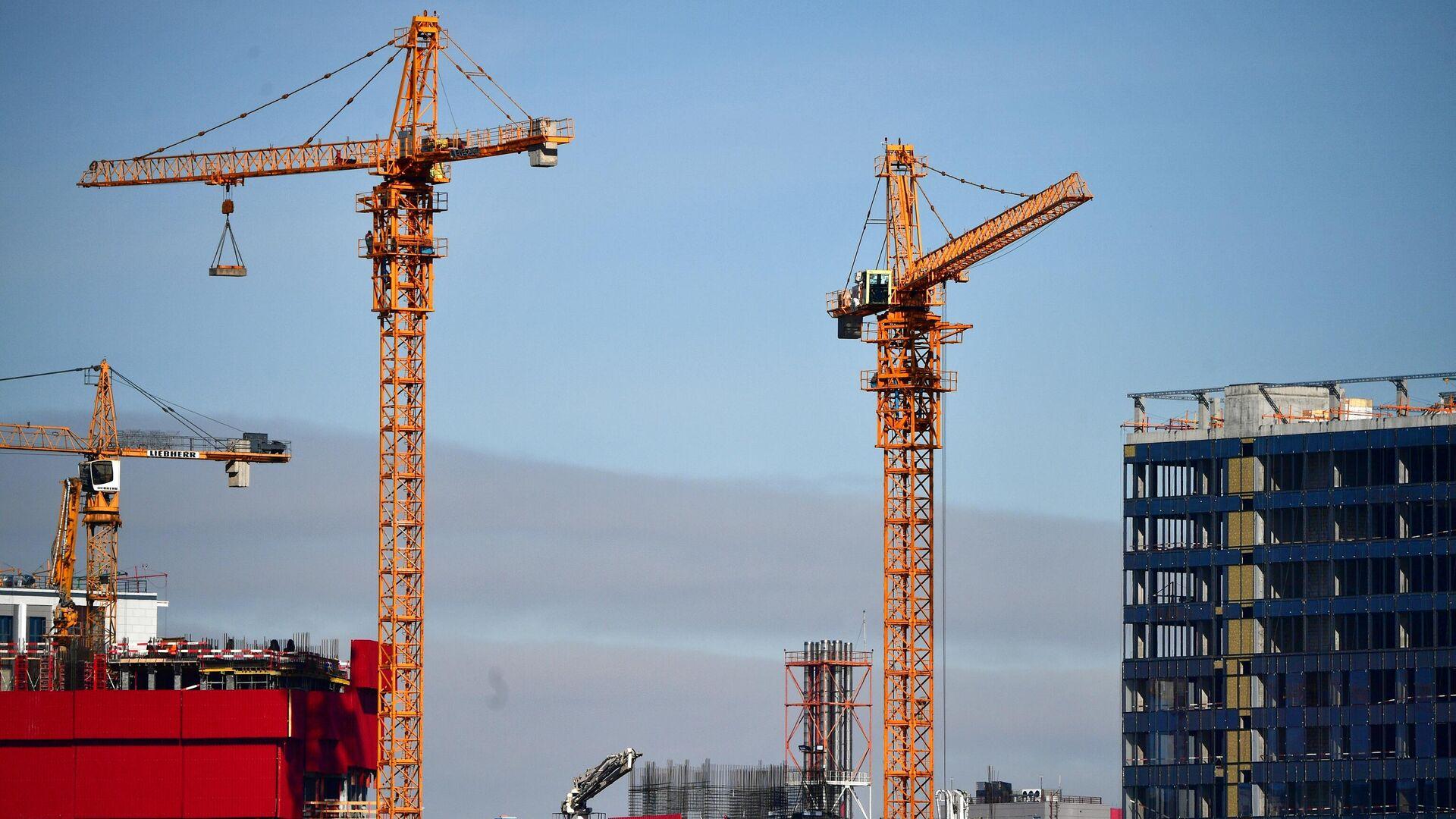 Строительство новых домов в Москве - РИА Новости, 1920, 29.04.2021