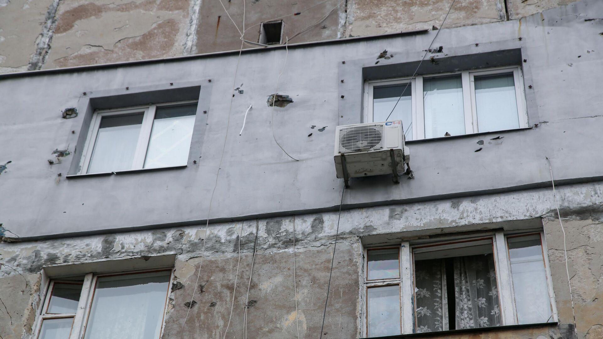 Последствия обстрела в Донецке - РИА Новости, 1920, 07.05.2021