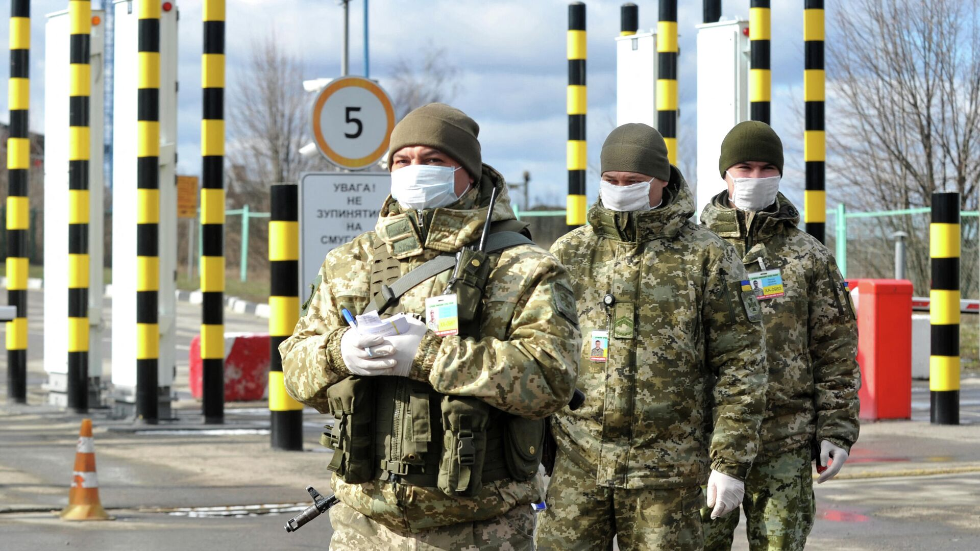 Украинские военные не видят признаков подготовки России к