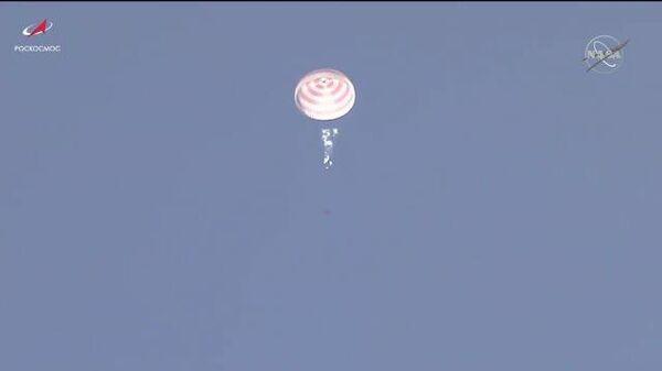 Возвращение на Землю: Союз МС-17 с экипажем МКС совершил успешную посадку