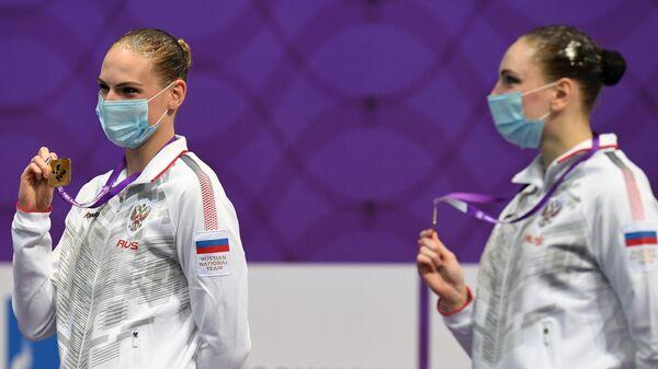 Светлана Ромашина и Светлана Колесниченко (Россия)