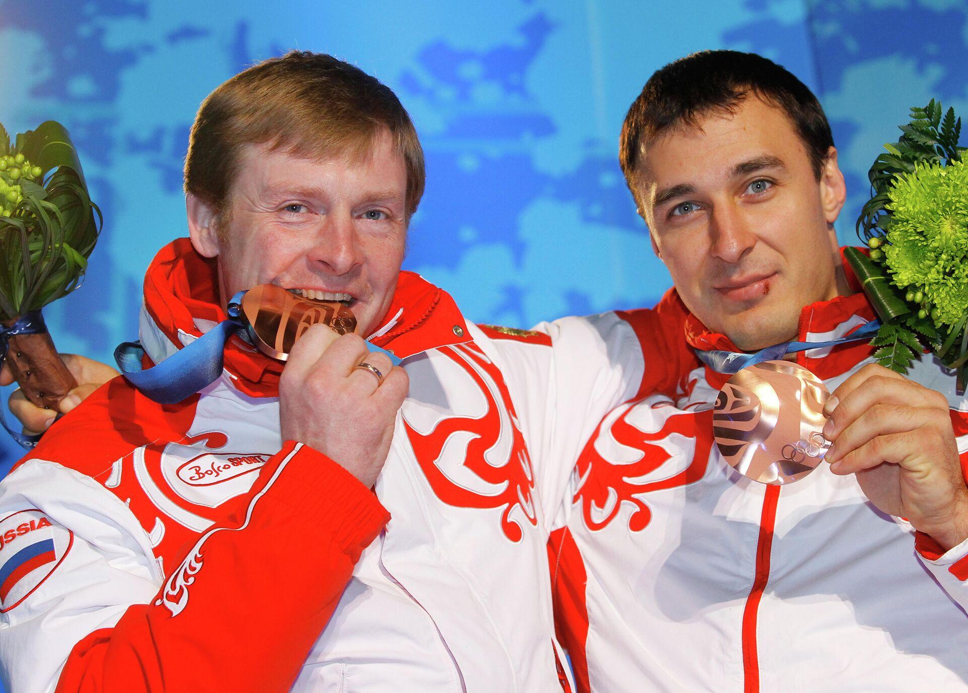 Олимпиада - 2010. Церемония награждения по итогам десятого дня - РИА Новости, 1920, 19.04.2021