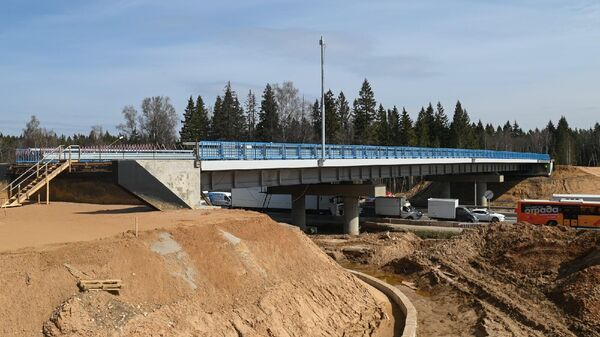 Строительство новой развязки в Солнечногорске