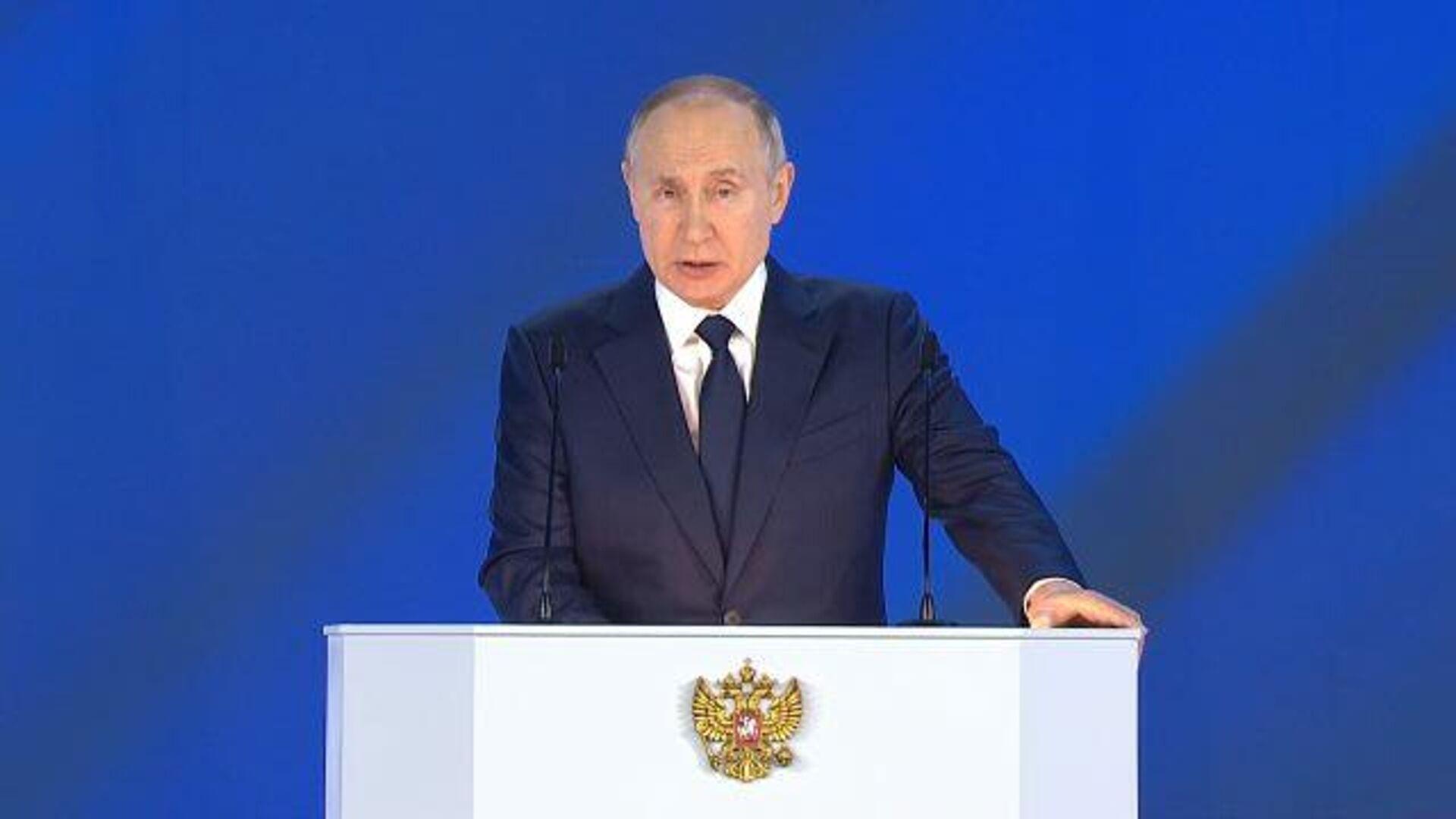 Владимир Путин отметил, что страна  должна быть готова в случае появления  опасной инфекции - РИА Новости, 1920, 21.04.2021