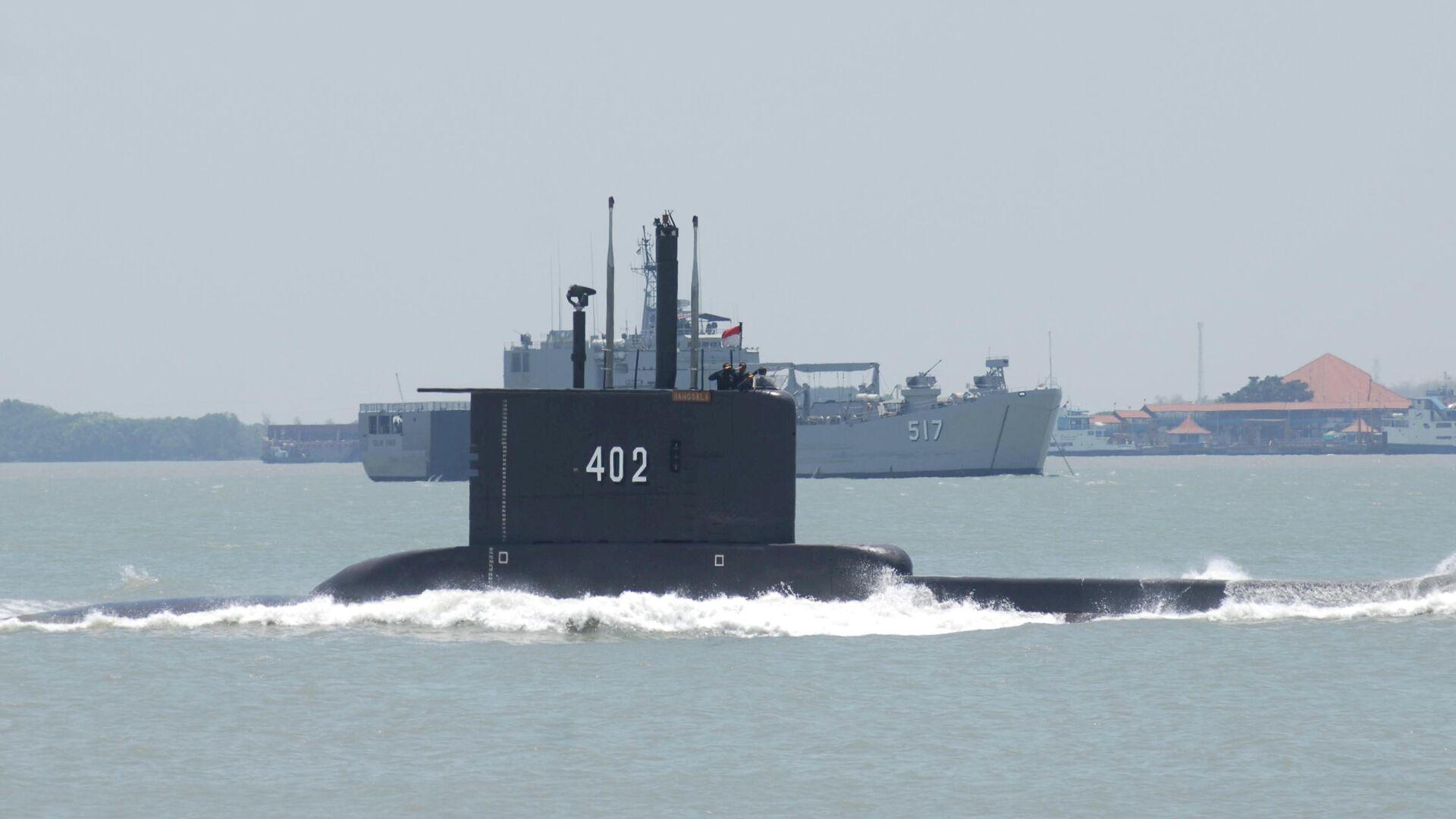 Подводная лодка ВМС Индонезии KRI Nanggala-402  - РИА Новости, 1920, 24.04.2021