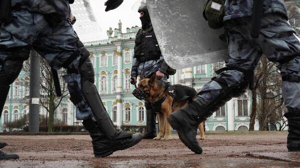 В Петербурге арестовали 31 участника несогласованной акции