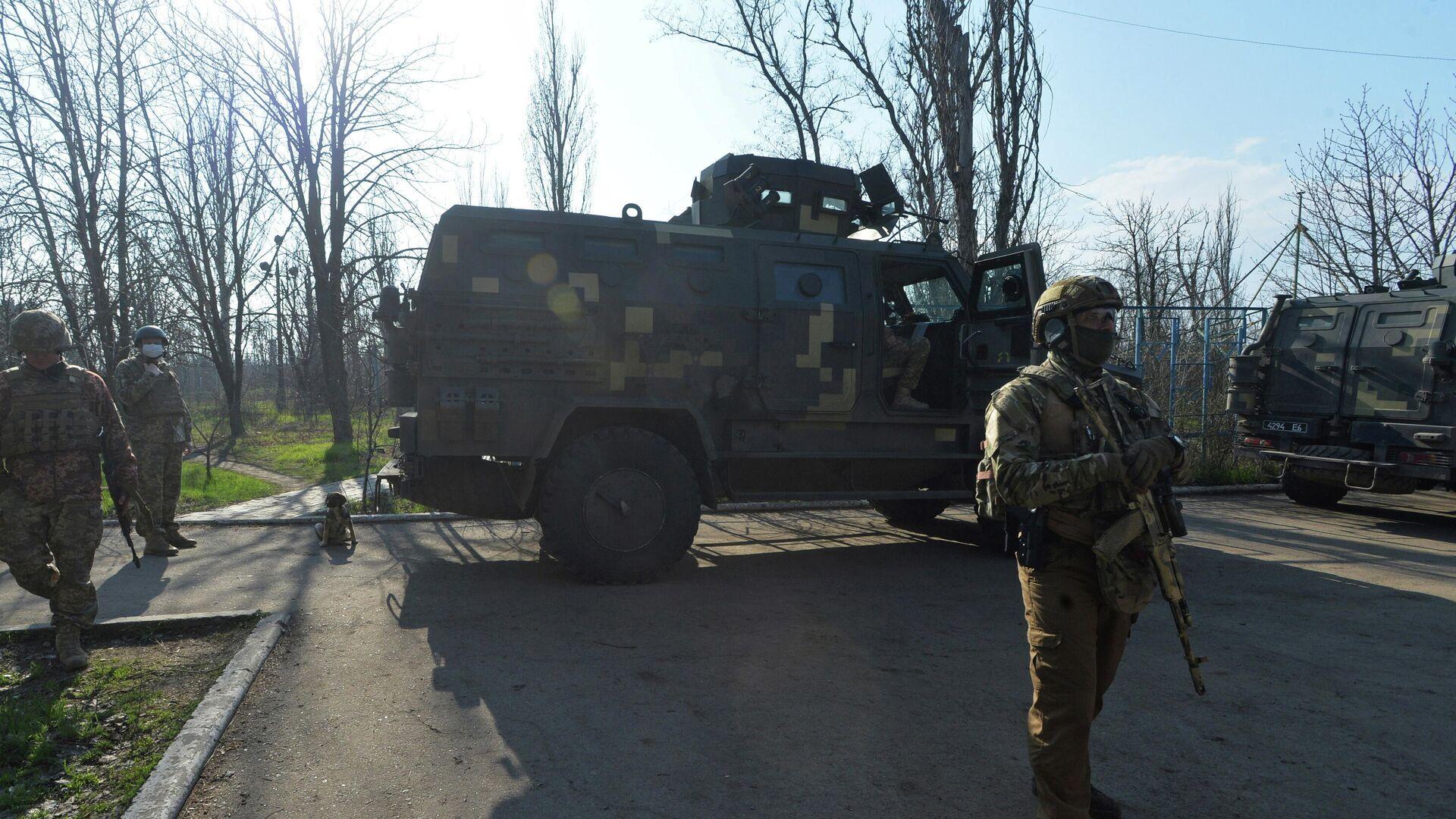 В ДНР обвинили ВСУ в минометном обстреле участка отвода сил в Донбассе