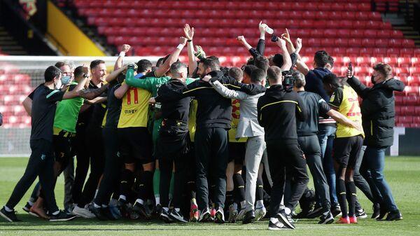 Игроки и сотрудники клуба Уотфорд