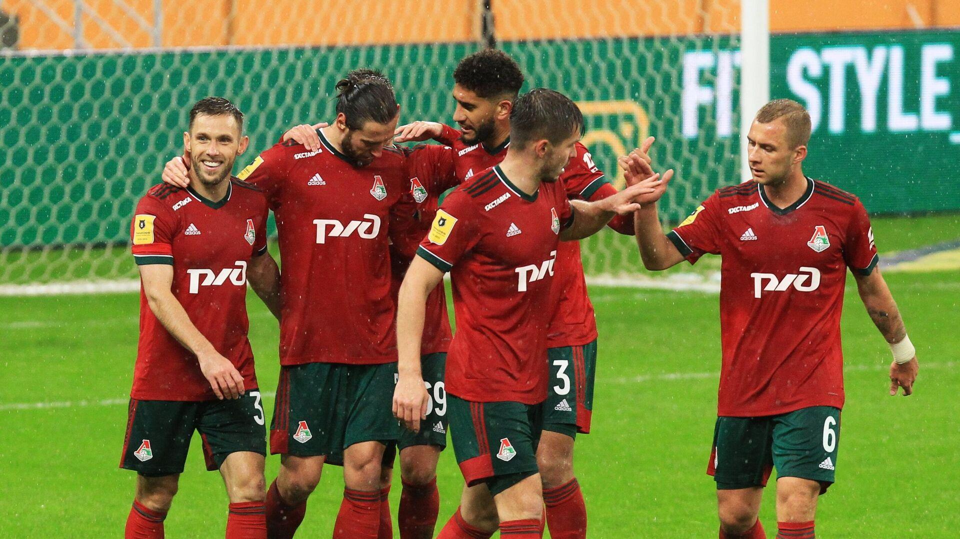 Игроки ФК Локомотив - РИА Новости, 1920, 12.05.2021