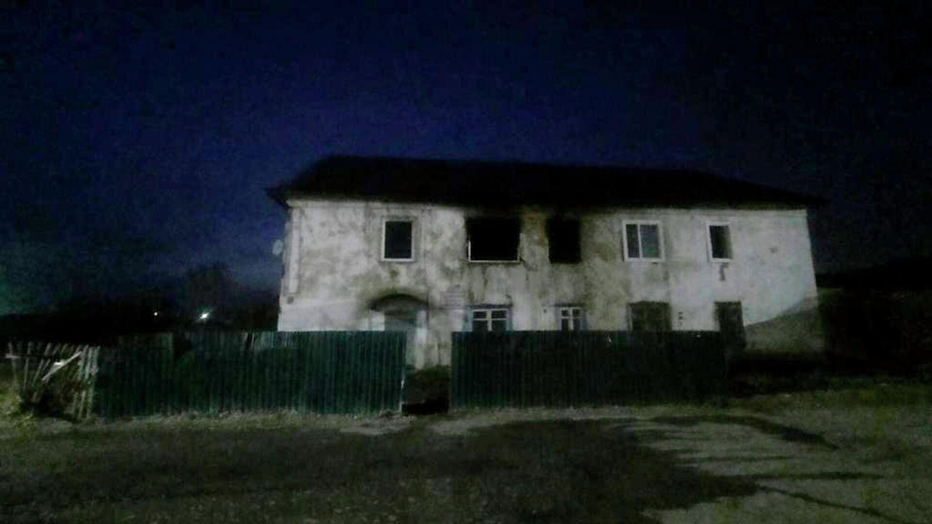 Трое детей погибли при пожаре в Хакасии
