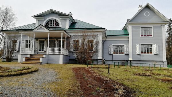 Главный дом в усадьбе Шахматово