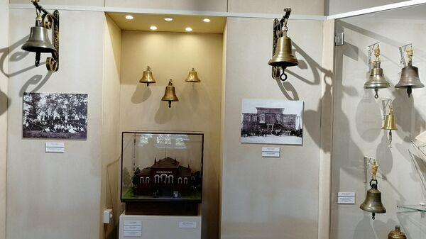 Пожарные колокольчики в Валдайском музейном колокольном центре