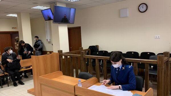 В Бабушкинском суде Москвы, где рассматривается жалоба на приговор Алексею Навальному по делу о клевете на ветерана Великой Отечественной войны
