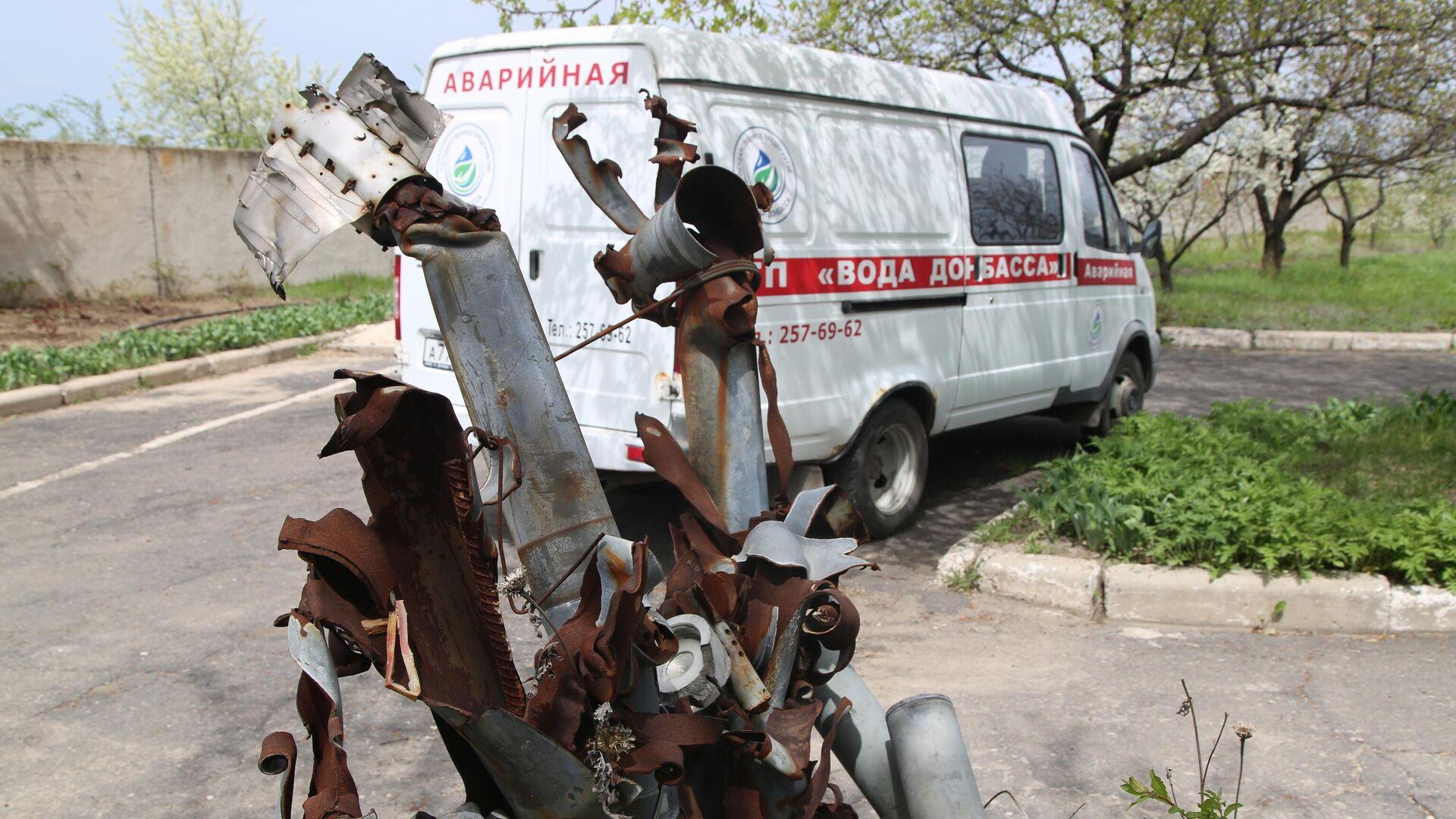 Последствия обстрела в Донецке - РИА Новости, 1920, 06.05.2021