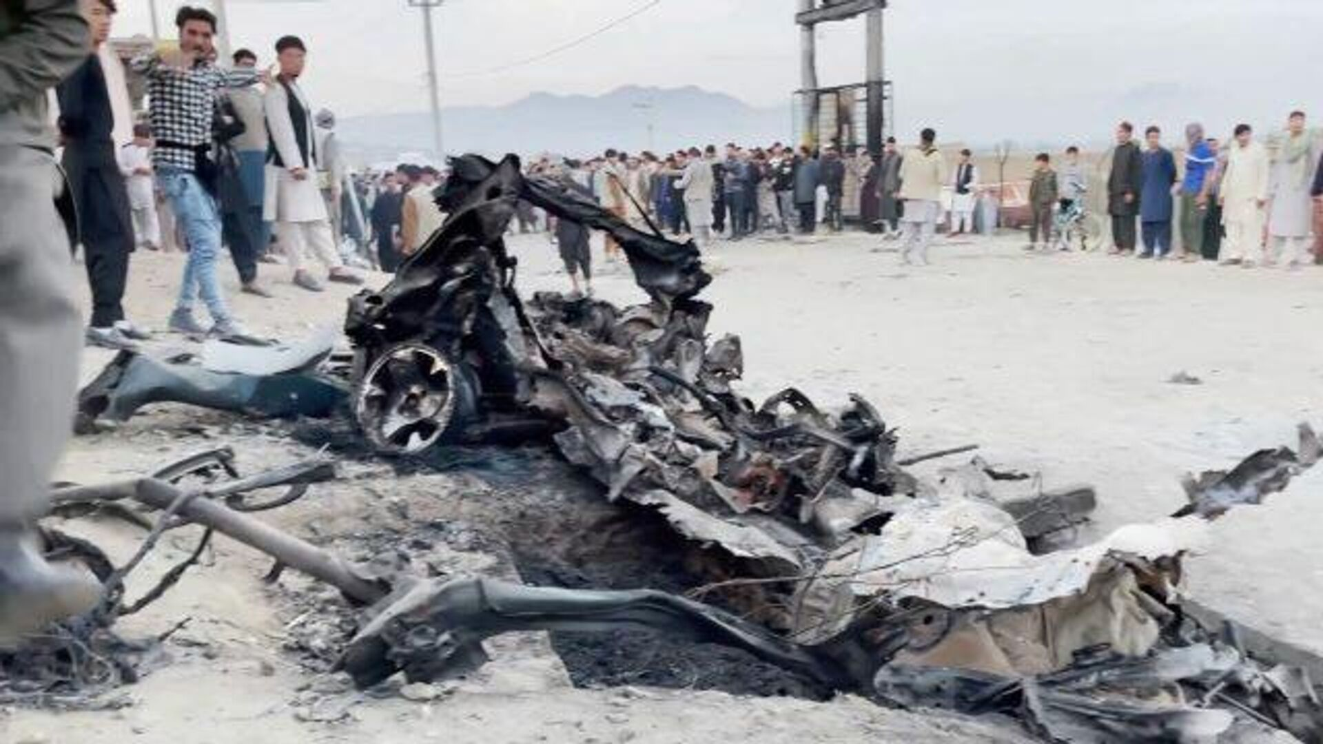 Взрывы в Кабуле: кадры с места трагедии - РИА Новости, 1920, 09.05.2021