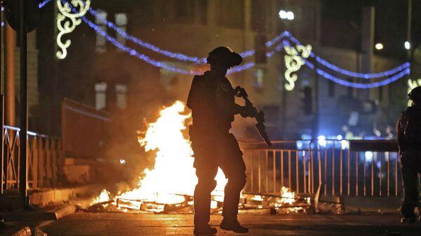 Беспорядки в Восточном Иерусалиме