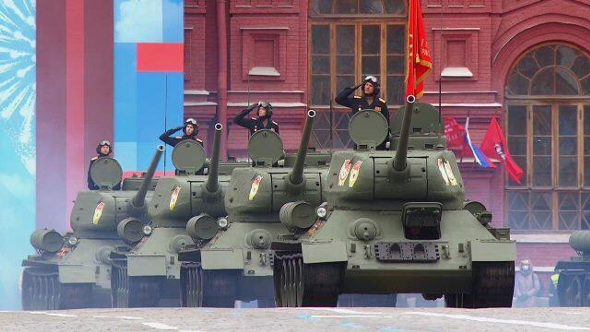 Парад Победы прошел  во многих городах России - РИА Новости, 1920, 09.05.2021