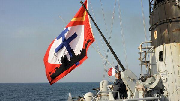 Корабль Командан Биро ВМС Франции в Черном море