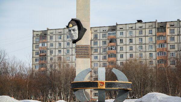 Памятник подводникам ракетоносцев в Гаджиево