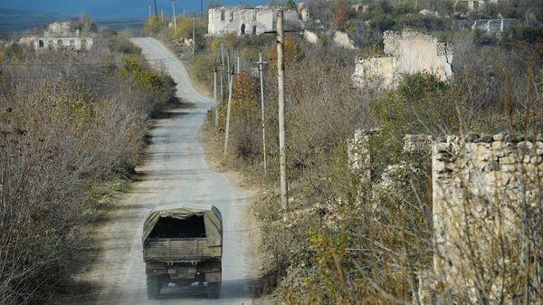 Разрушенный город Физули