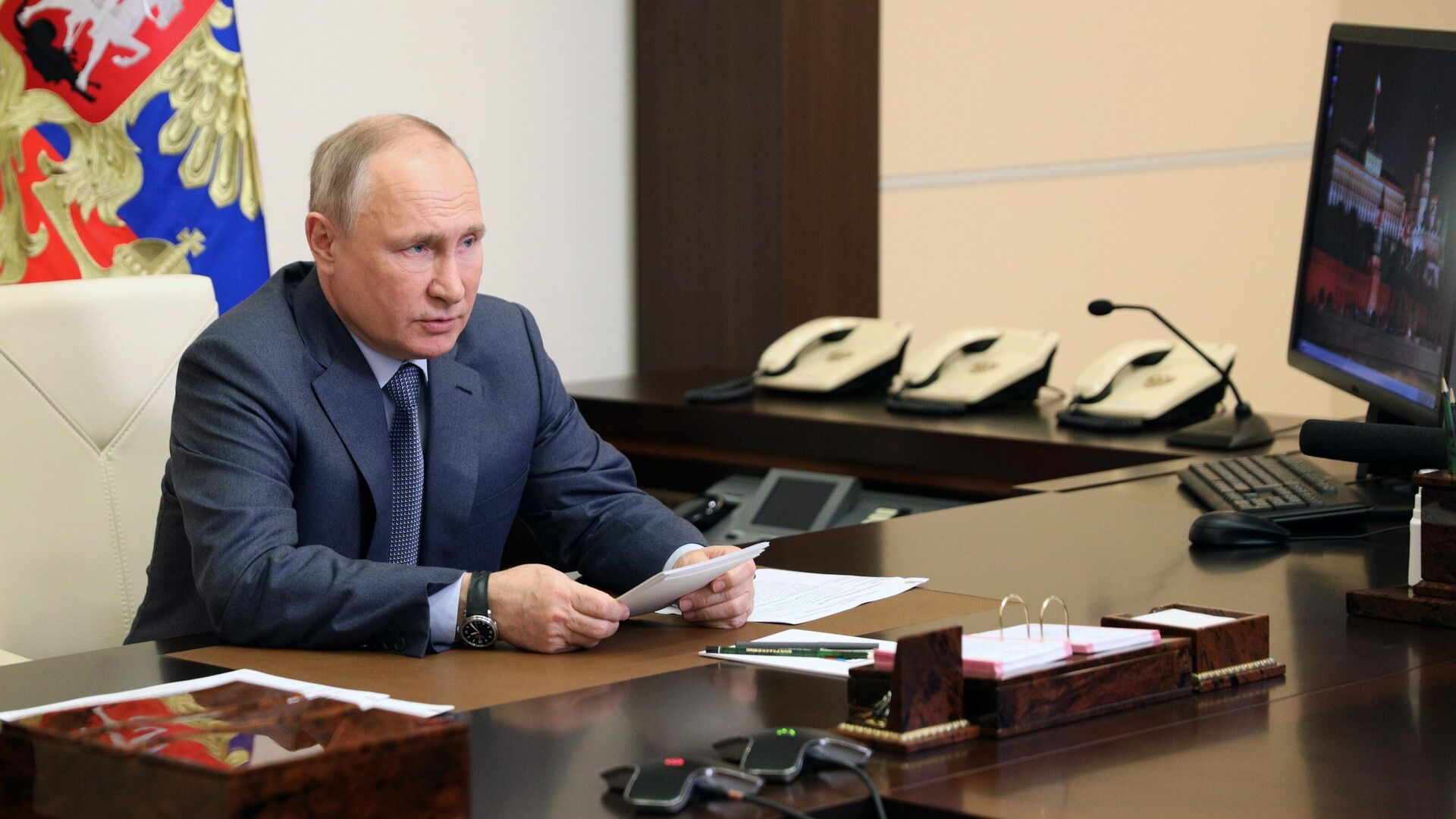 Президент РФ Владимир Путин - РИА Новости, 1920, 13.05.2021