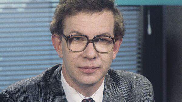 Ведущий информационной телевизионной программы Вести Александр Шашков