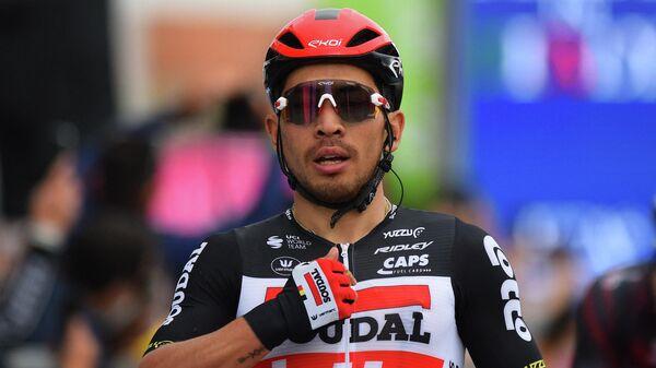 Велогонщик Калеб Юэн из команды Lotto Soudal (Австралия)