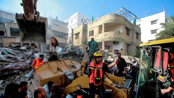 Израиль нанес удары по 1,5 тысячи целей в секторе Газа с начала эскалации