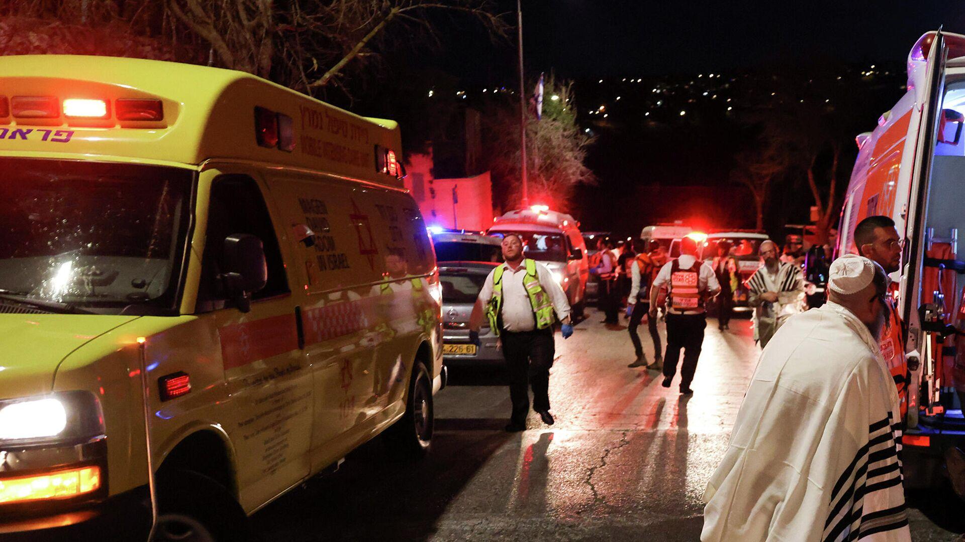 Число пострадавших при обрушении трибуны в Израиле превысило 160