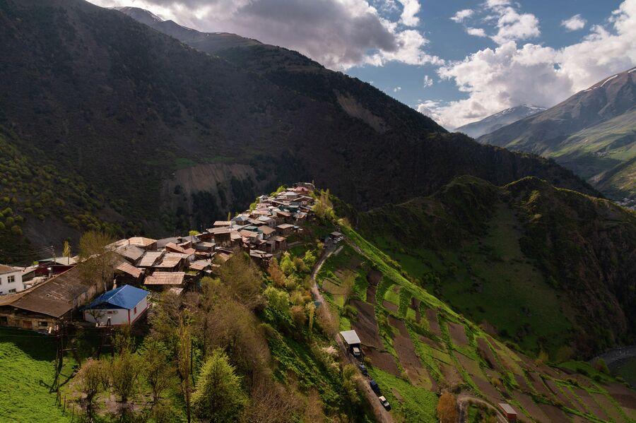 Село Гельмец, южный Дагестан
