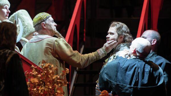 Сцена из оперы Опричник