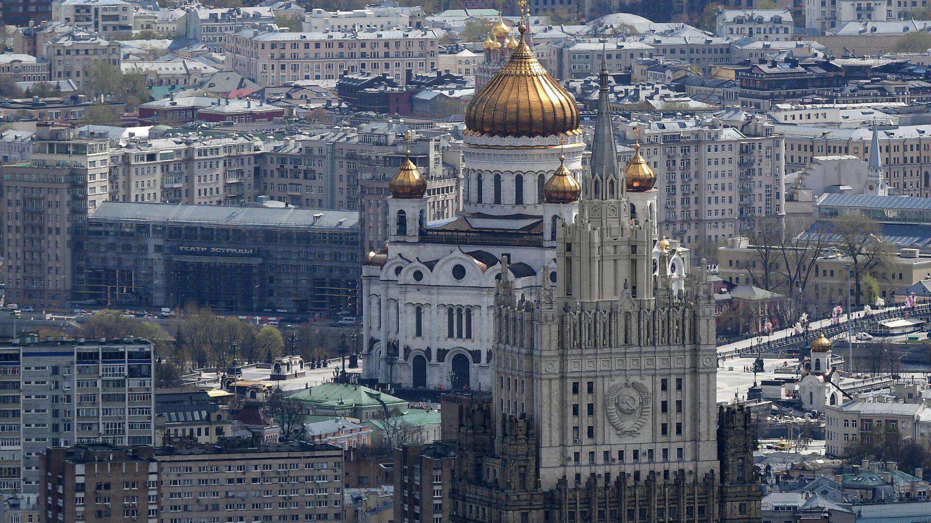 Вид с самой высокой площадки комплекса Башня Федерация - РИА Новости, 1920, 01.06.2021
