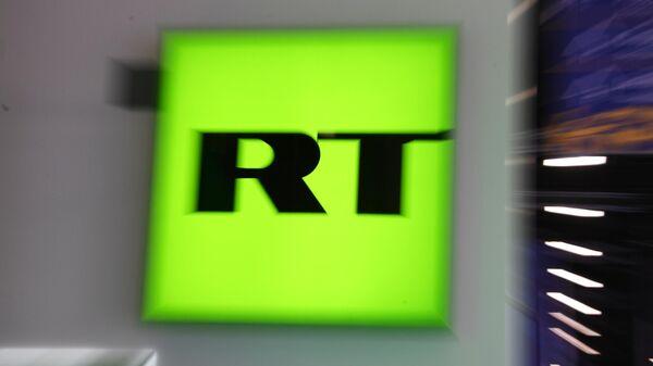 Логотип телеканала RT (Russia Today)