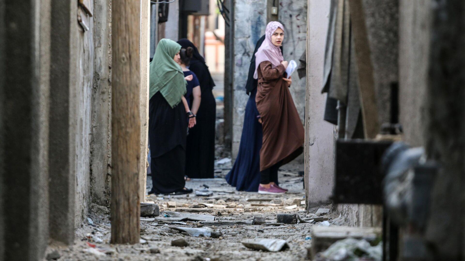 Байден объявил , что США помогут восстановить инфраструктуру всекторе Газа