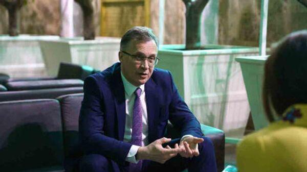 Зампредседателя Парламентского собрания Союза Белоруссии и России Андрей Савиных