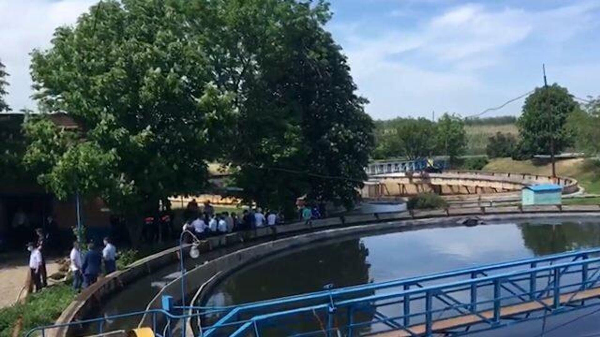Власти рассказали о состоянии пострадавших в коллекторе под Таганрогом