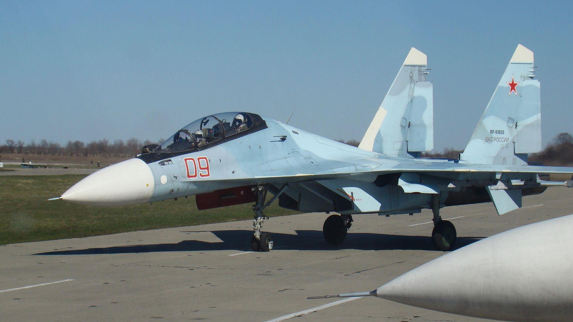 Истребитель Су-30СМ  - РИА Новости, 1920, 01.06.2021