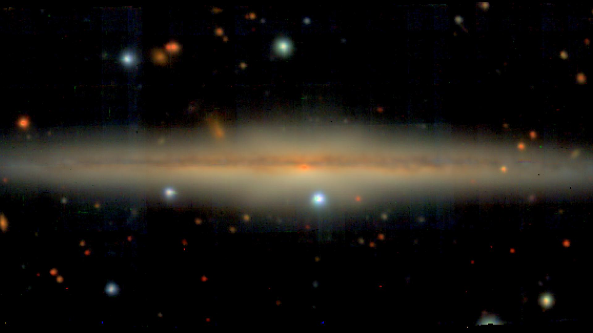 Найдена галактика-близнец Млечного Пути