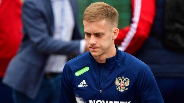 Футболист сборной России Даниил Фомин