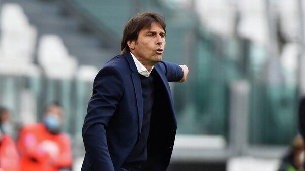 Итальянский тренер Антонио Конте