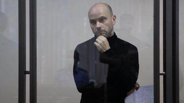 Экс-глава Открытой России Андрей Пивоваров в Первомайском районном суде города Краснодара