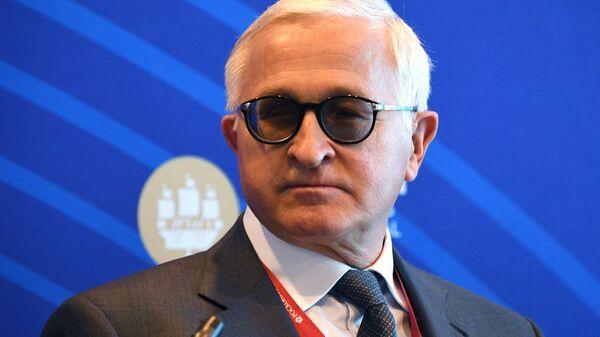 Президент Российского союза промышленников и предпринимателей Александр Шохин на Петербургском международном экономическом форуме - 2021