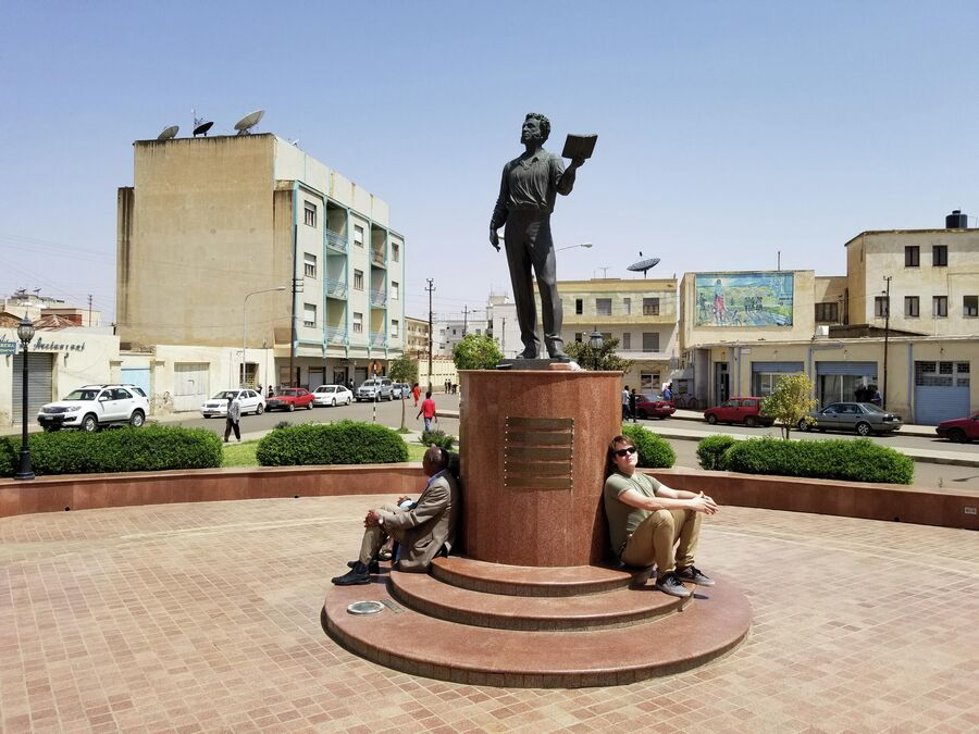 Эфиопия, памятник Пушкину