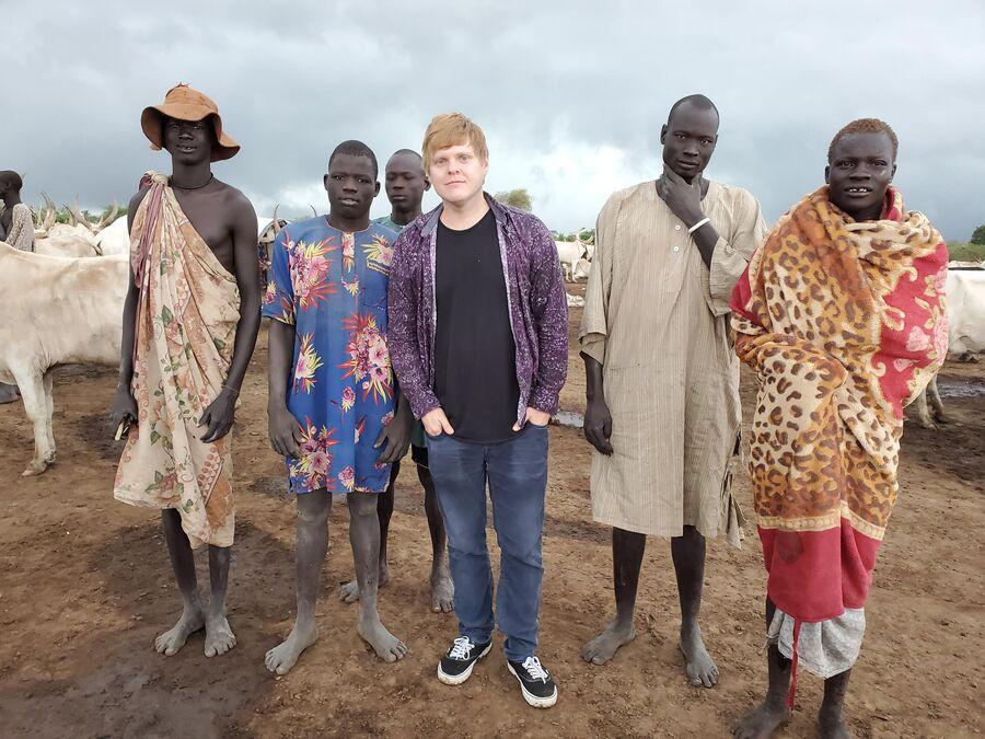 Южный Судан, племена мундари