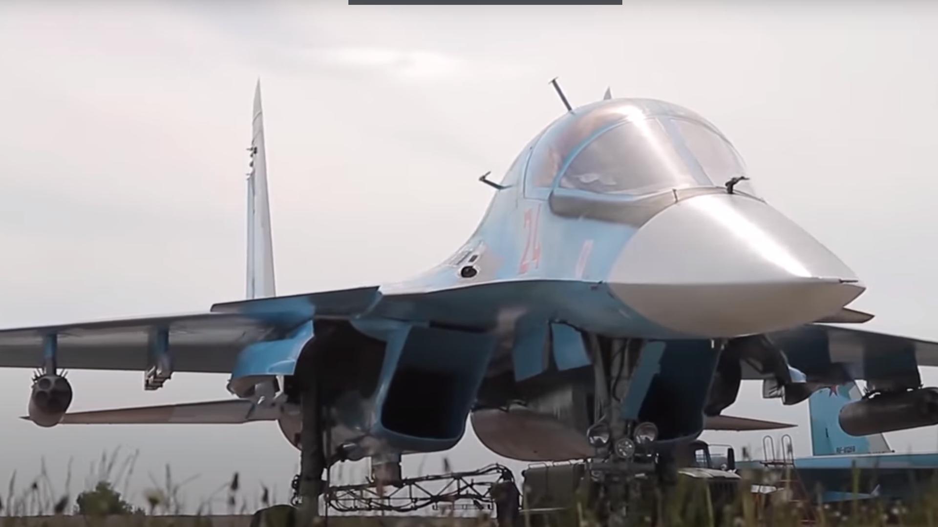 Учения Су-34 в Курганской области - РИА Новости, 1920, 05.06.2021