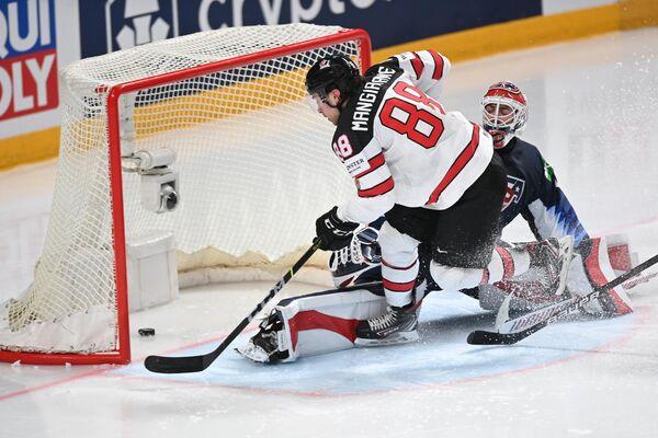Хоккей. Чемпионат мира. Матч США - Канада